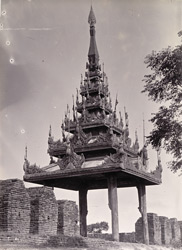An intermediate Pyatthat on the City Wall, [Mandalay]